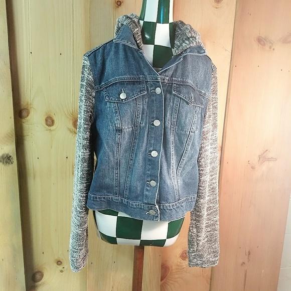 6a2cb67d5a1 Jessica Simpson Jackets   Blazers - Jessica Simpson Jean Jacket Blue Denim  Hoodie